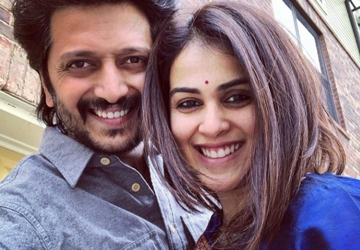 """Riteish Deshmukh Shares Heartfelt Birthday Wishes for Genelia; Said """"Growing up young with you is a blessing"""""""