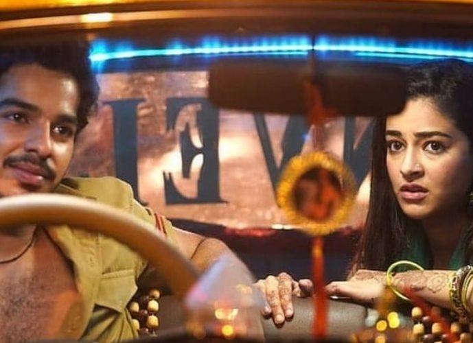 """""""Khaali Peeli""""  starter Ananya Pandey- Ishaan Khattar  eye for a digital premiere."""