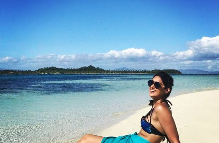 """Beach Bomb"" Ileana D'Cruz dreams of her Happy Place"