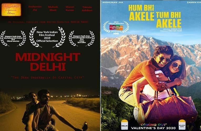 "Anshuman Jha's ""Hum Bhi Akele Tum Bhi Akele"" and ""Midnight Delhi"" Bags A Spot At IIFFB 2021"